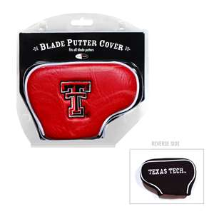 Texas Tech Red Raiders Golf Blade Putter Cover