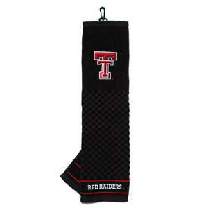 Texas Tech Red Raiders Golf Embroidered Towel