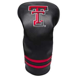 Texas Tech Red Raiders Golf Vintage Driver Headcover