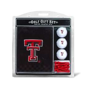 Texas Tech Red Raiders Golf Embroidered Towel Gift Set