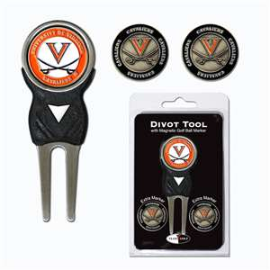 University of Virginia Cavaliers Golf Signature Divot Tool Pack  25445