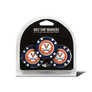 University of Virginia Cavaliers Golf 3 Pack Golf Chip