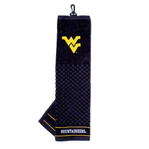 University of West Virginia Mountaineers Golf Embroidered Towel
