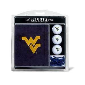 University of West Virginia Mountaineers Golf Embroidered Towel Gift Set