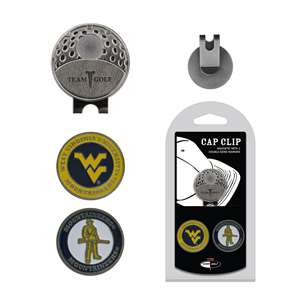 University of West Virginia Mountaineers Golf Cap Clip Pack