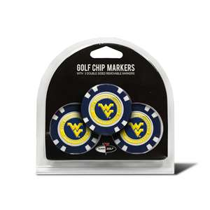 University of West Virginia Mountaineers Golf 3 Pack Golf Chip