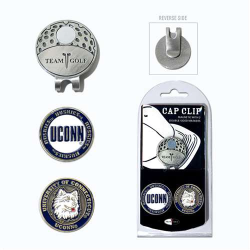 University of Connecticut Huskies Golf Cap Clip Pack 25847