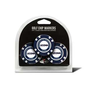 University of Connecticut Huskies Golf 3 Pack Golf Chip
