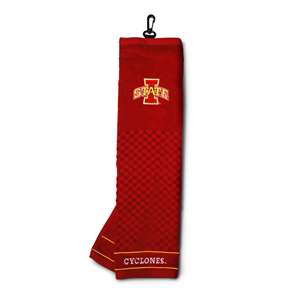 Iowa State University Cyclones Golf Embroidered Towel