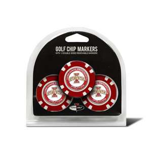 Iowa State University Cyclones Golf 3 Pack Golf Chip