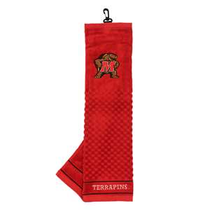 University of Maryland Terrapins Golf Embroidered Towel 26010