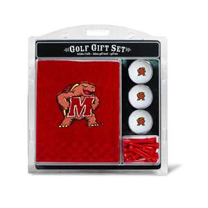 University of Maryland Terrapins Golf Embroidered Towel Gift Set 26020