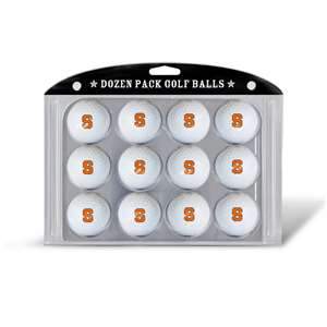 Syracuse Uninversity Orange Golf Dozen Ball Pack
