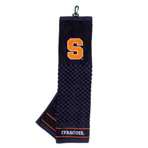 Syracuse Uninversity Orange Golf Embroidered Towel