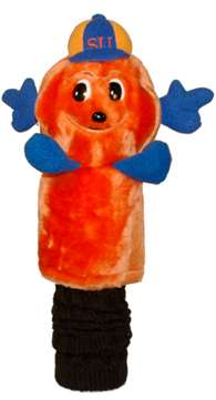 Syracuse Uninversity Orange Golf Mascot Headcover