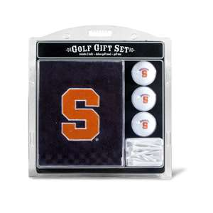 Syracuse Uninversity Orange Golf Embroidered Towel Gift Set