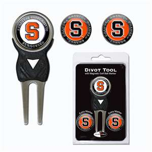 Syracuse Uninversity Orange Golf Signature Divot Tool Pack