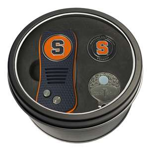 Syracuse Uninversity Orange Golf Tin Set - Switchblade, Cap Clip, Marker