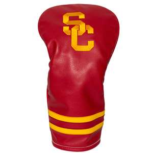 University of Southern California USC Trojans Golf Vintage Driver Headcover 27211