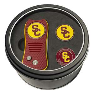 University of Southern California USC Trojans Golf Tin Set - Switchblade, 2 Markers 27259