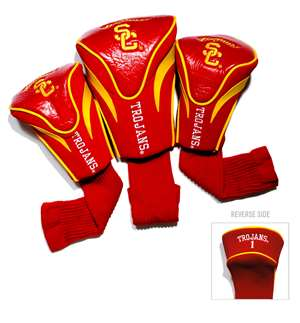University of Southern California USC Trojans Golf 3 Pack Contour Headcover