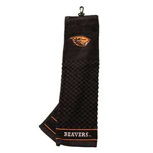 Oregon State University Beavers Golf Embroidered Towel