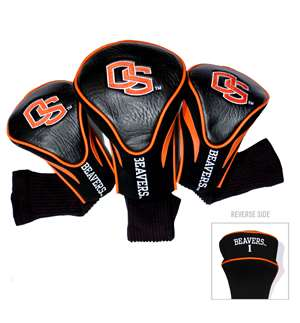 Oregon State University Beavers Golf 3 Pack Contour Headcover