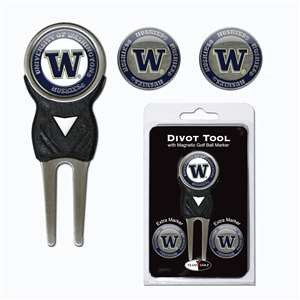 University of Washington Huskies Golf Signature Divot Tool Pack