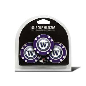 University of Washington Huskies Golf 3 Pack Golf Chip