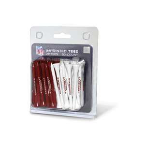Arizona Cardinals Golf 50 Tee Pack