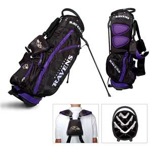 Baltimore Ravens Golf Fairway Stand Bag