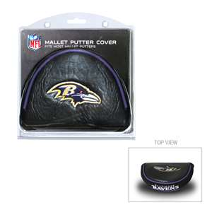 Baltimore Ravens Golf Mallet Putter Cover 30231