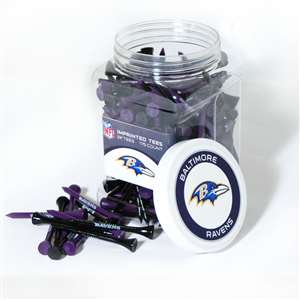 Baltimore Ravens Golf 175 Tee Jar 30251
