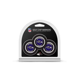 Baltimore Ravens Golf 3 Pack Golf Chip 30288