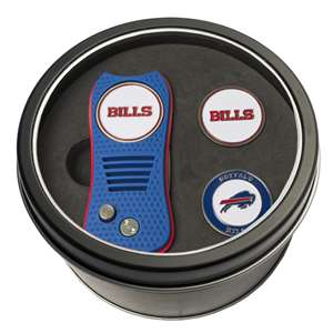 Buffalo Bills Golf Tin Set - Switchblade, 2 Markers