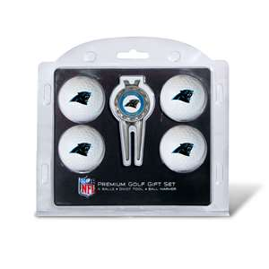 Carolina Panthers Golf 4 Ball Gift Set