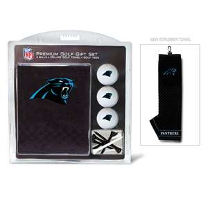 Carolina Panthers Golf Embroidered Towel Gift Set