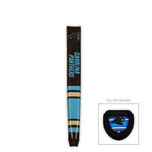 CAROLINA PANTHERS                   Golf Club Putter Grip with Ball Marker