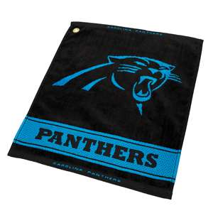Carolina Panthers  Jacquard Woven Golf Towel