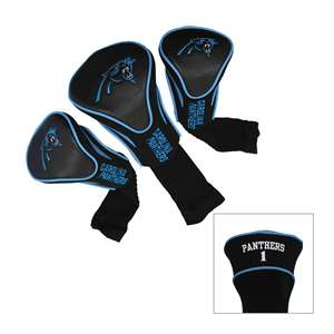Carolina Panthers Golf 3 Pack Contour Headcover