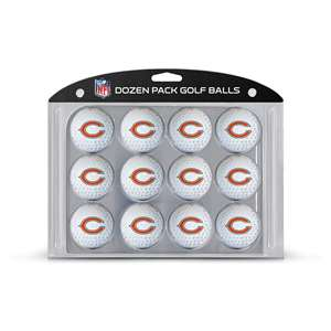 Chicago Bears Golf Dozen Ball Pack