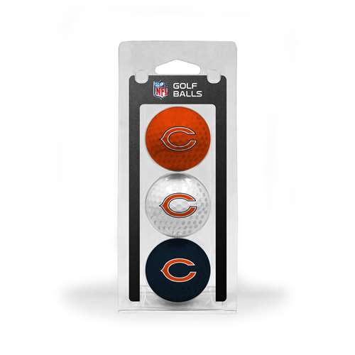 Chicago Bears Golf 3 Ball Pack