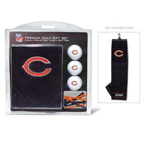 Chicago Bears Golf Embroidered Towel Gift Set