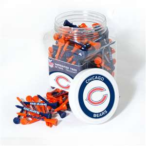 CHICAGO BEARS Golf Tee - 175 Count Jar of Tees