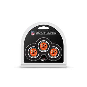 Cincinnati Bengals Golf 3 Pack Golf Chip 30688