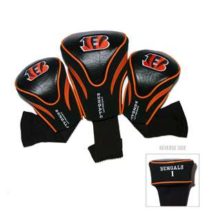 Cincinnati Bengals Golf 3 Pack Contour Headcover