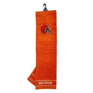 CLEVELAND BROWNS Golf Towel - Ball Club & Bag Towels
