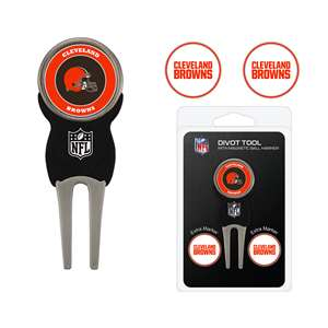Cleveland Browns Golf Signature Divot Tool Pack