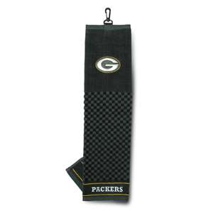 Green Bay Packers Golf Embroidered Towel 31010