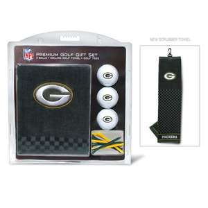 Green Bay Packers Golf Embroidered Towel Gift Set 31020